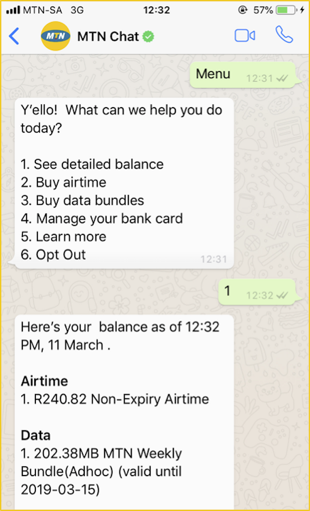 MTN Chat